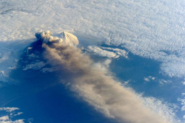 Pavlof Volcano, Alaksa - United States