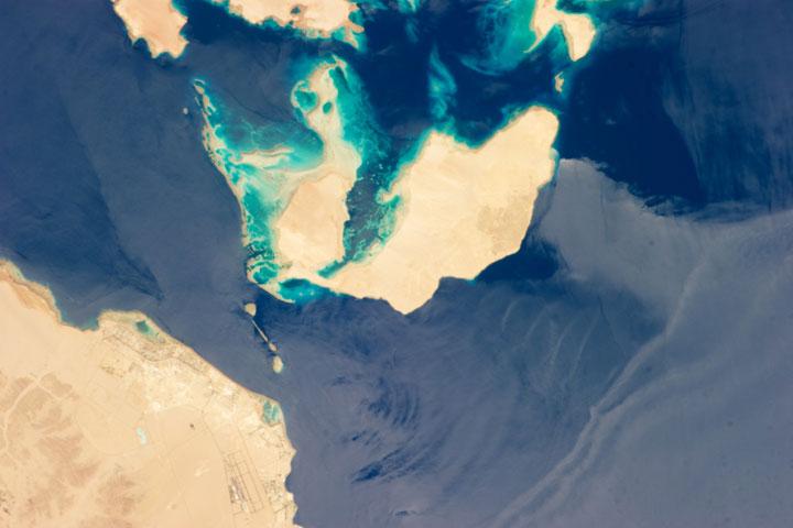 Strait of Tiran - Saudi Arabia