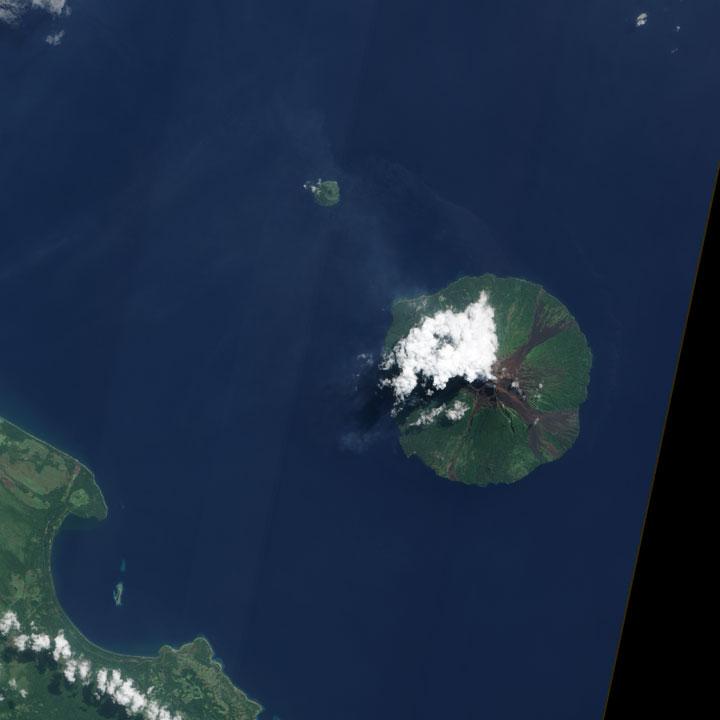 Manam volcano - Papua New Guinea