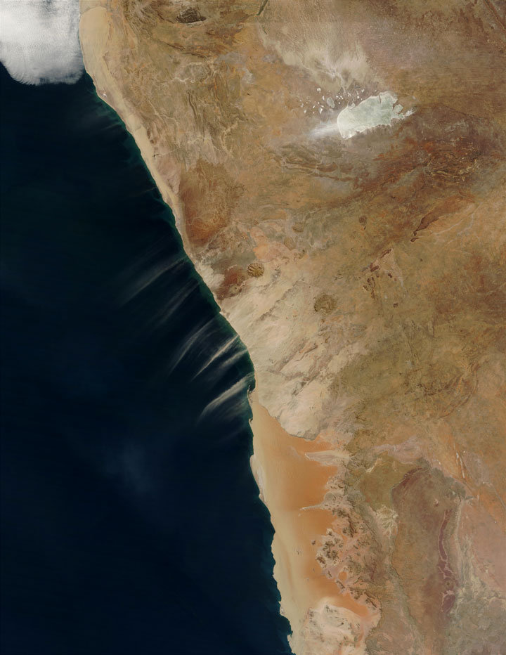 Sand Trails of the Namibian coast