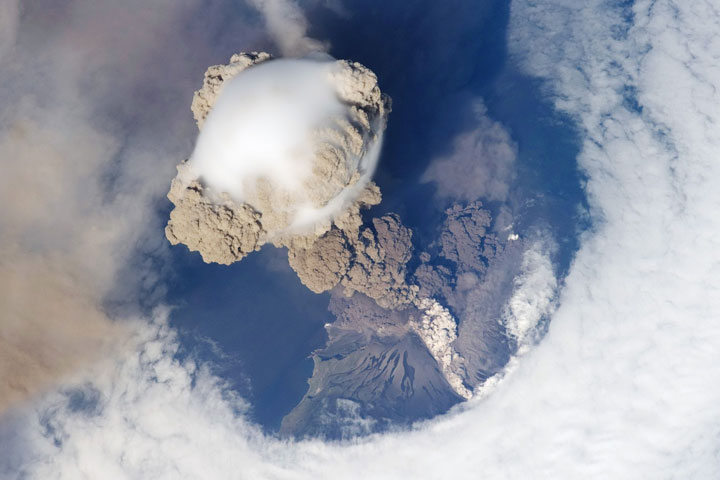 Sarychev Volcano - Kuril Islands