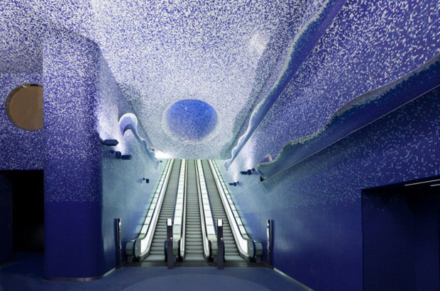 Art-Toledo-metro-Naples-2-The Wonderful New Metro Station In Naples