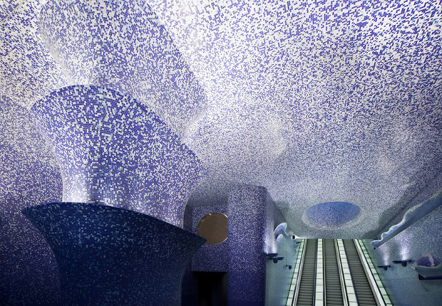 Art-Toledo-metro-Naples-The Wonderful New Metro Station In Naples