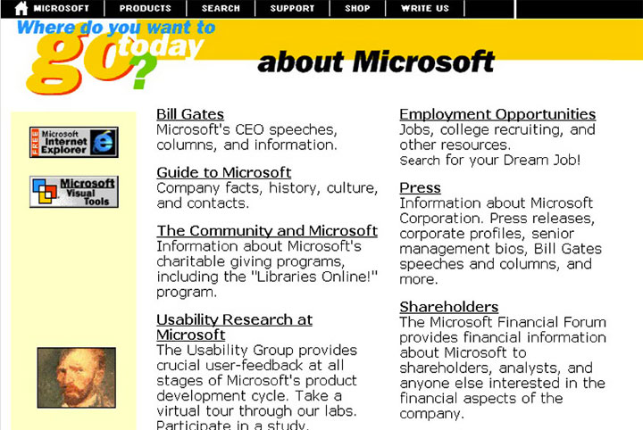 Before Microsoft in 1996