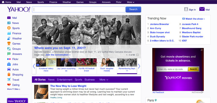 After: Yahoo! in 2013