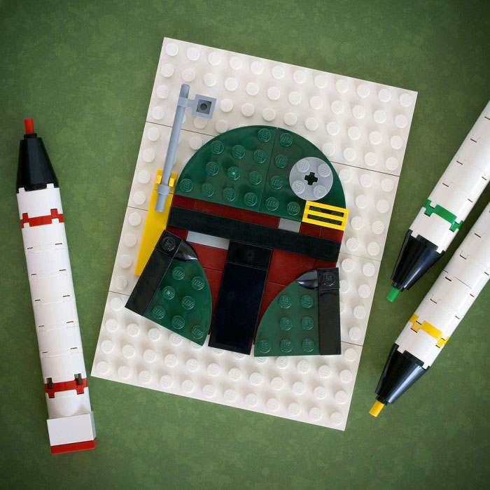 Boba Fett - Star Wars-LEGO to recreate Characters Of Your in Favourite Movie And Cartoon Series
