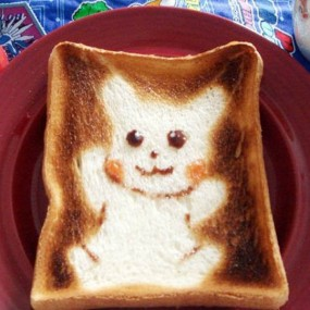 Discover The Japanese Cute Toast Art (Photo Gallery)