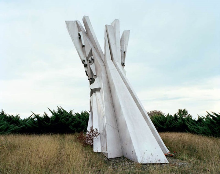Ostra-Fascinating Monuments Of The Former Yugoslavia Left Out In The Past