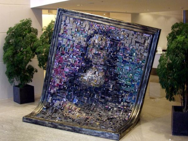 Mona Lisa by Asus-Geek Art Inspired By High-Tech