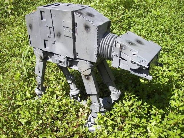 AT-AT designed by Sage Werbock or The Great Nippulini-Geek Art Inspired By High-Tech