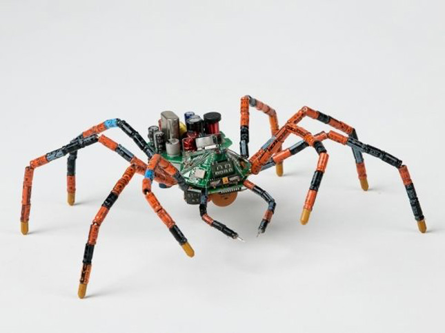 Cyber ​​spider by Steven Rodrig-Geek Art Inspired By High-Tech
