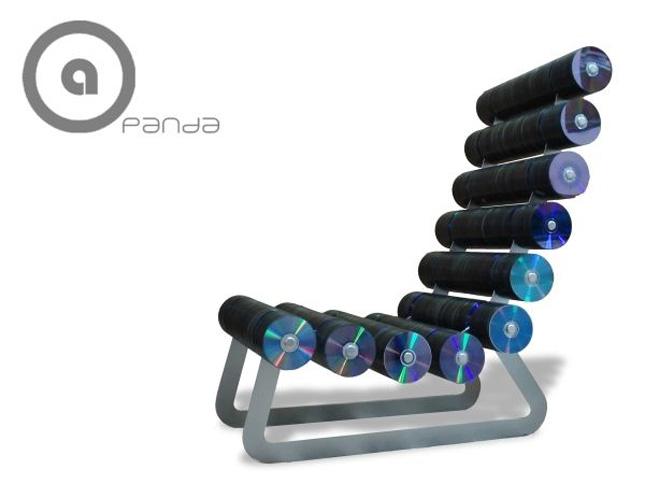 """""""PANDA Chair"""" by Belen Hermosa-Geek Art Inspired By High-Tech"""