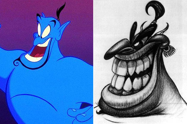 Engineering (Aladdin)-Original Images Of Famous Movie Characters As Imagined By Their Designers