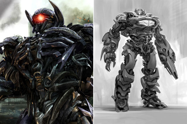 Shockwave (Transformers 3)-Original Images Of Famous Movie Characters As Imagined By Their Designers
