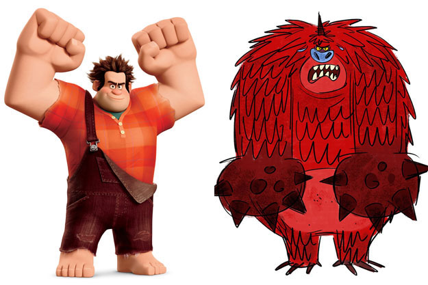 Ralph (Ralph's World)-Original Images Of Famous Movie Characters As Imagined By Their Designers