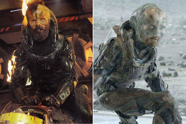 Fitfield (Prometheus)-Original Images Of Famous Movie Characters As Imagined By Their Designers
