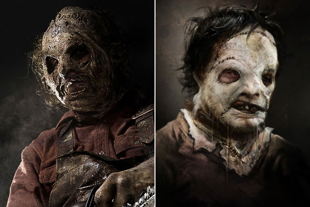 Leatherface (Texas Chainsaw 3D)-Original Images Of Famous Movie Characters As Imagined By Their Designers