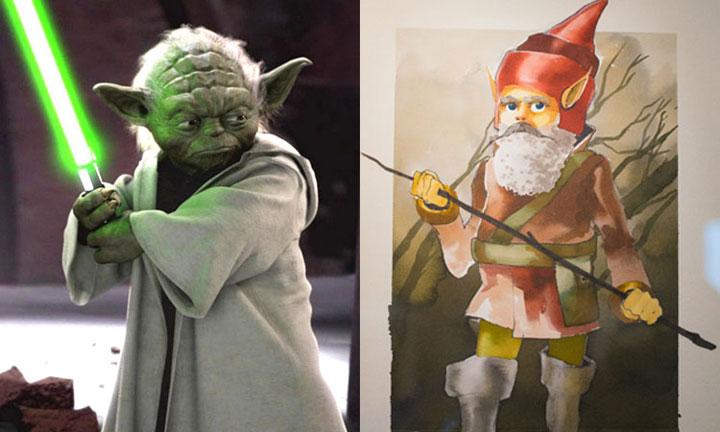 Master Yoda (Star Wars)-decouvrez-a-quoi-auraient-pu-ressembler-les-personnages-de-vos-films-preferes-3