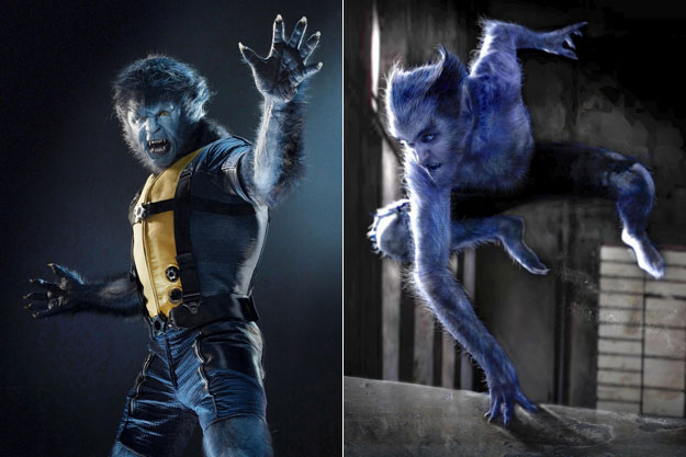 Beast (X-Men: First Class)-Original Images Of Famous Movie Characters As Imagined By Their Designers