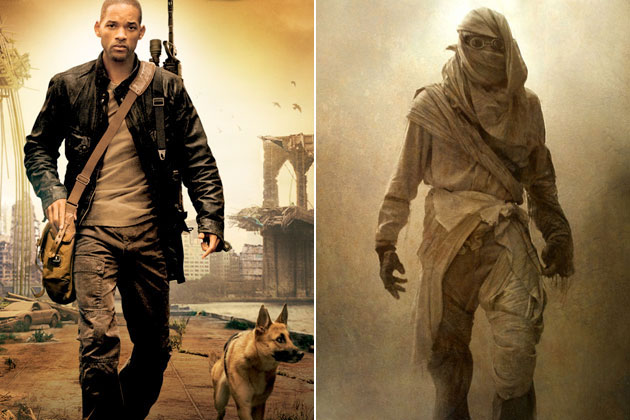 Robert Neville (I Am Legend)-Original Images Of Famous Movie Characters As Imagined By Their Designers