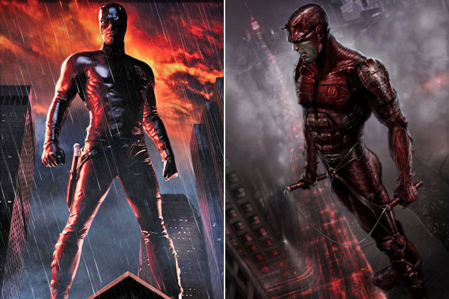 Daredevil -Original Images Of Famous Movie Characters As Imagined By Their Designers