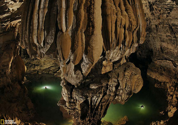 Son Doong Cave, Vietnam-The world's largest cave