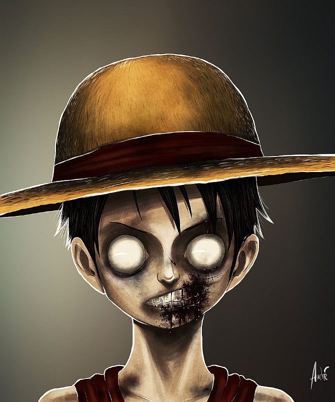 Luffy-Your Favorite Heroes Turned Into Dangerous Zombies By A Virus Infection