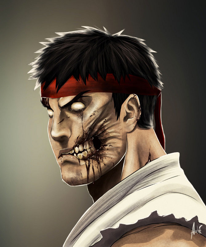 Ryu-Your Favorite Heroes Turned Into Dangerous Zombies By A Virus Infection