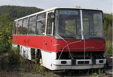 bus customized as an office-Unusual Home Office Ideas