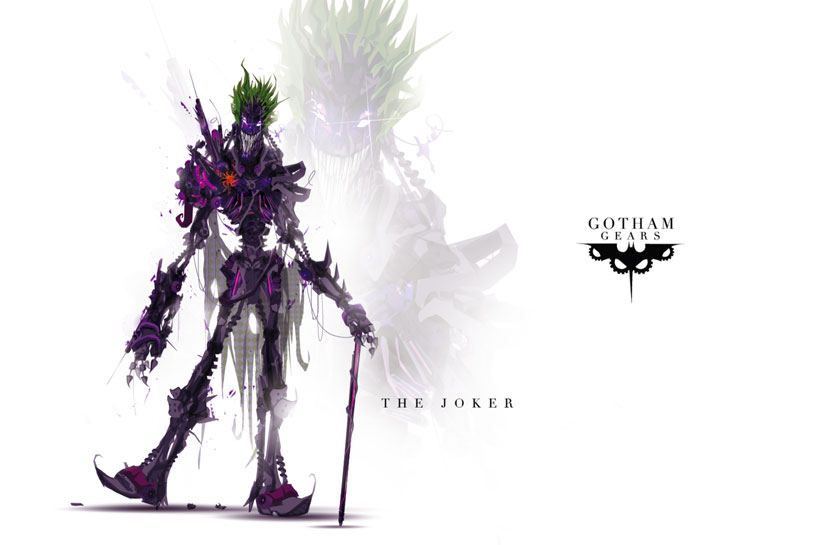The Joker-Superheroes Has Heavily Armed Robots