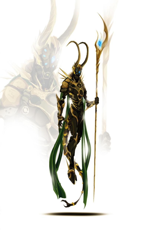 Loki-Superheroes Has Heavily Armed Robots