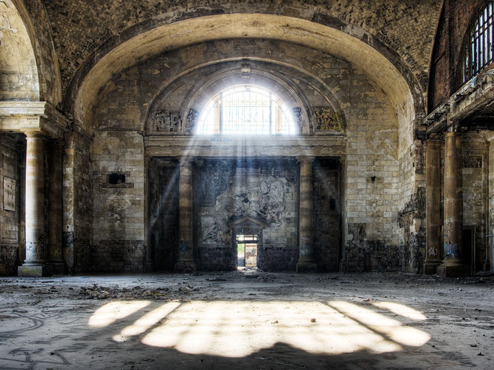 Michigan Central Station, Detroit - United States -Most Fascinating Abandoned Places Of The World