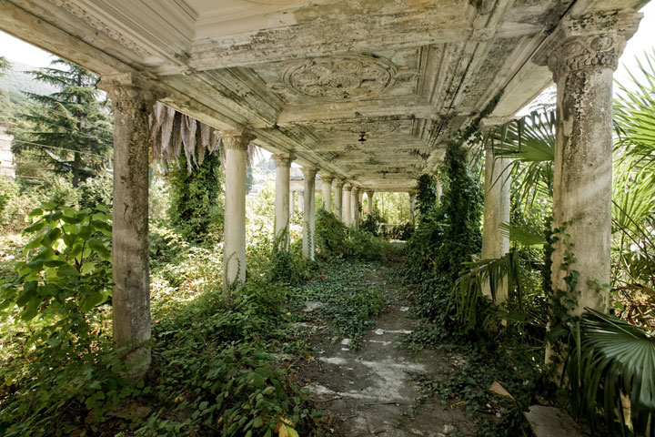 Abandoned station Abkhazia - Georgia-Most Fascinating Abandoned Places Of The World
