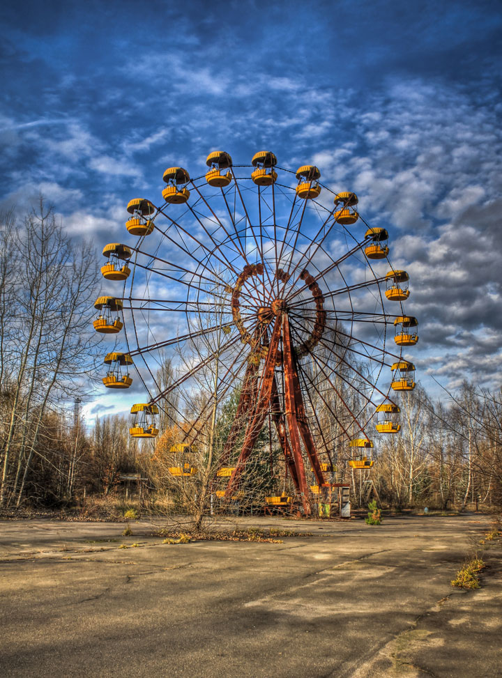 Pripyat - Ukraine-Most Fascinating Abandoned Places Of The World