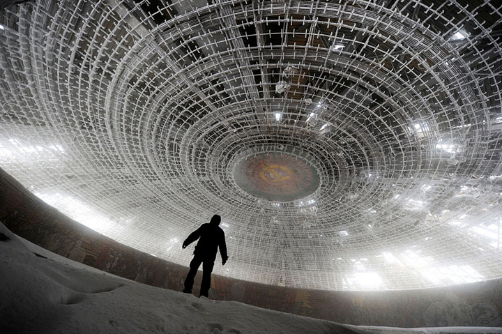 Home of the Bulgarian Communist Party - Bulgaria-Most Fascinating Abandoned Places Of The World