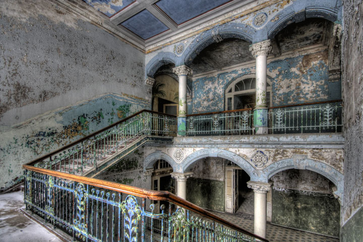 Abandoned military hospital, Beelitz - Germany-Most Fascinating Abandoned Places Of The World