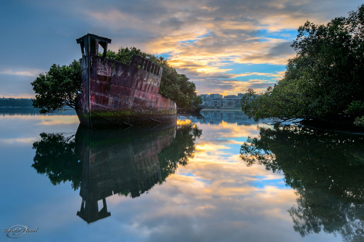 An abandoned boat older than a century - Australia-Most Fascinating Abandoned Places Of The World