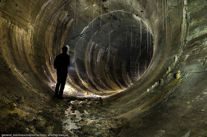 Abandoned subway tunnel, Kiev - Ukraine-Most Fascinating Abandoned Places Of The World
