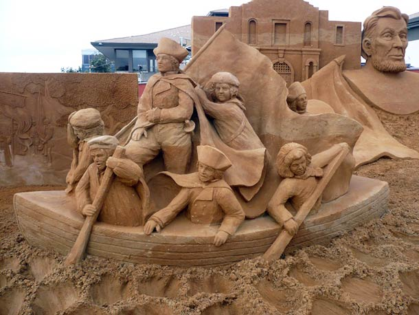 Mind Blowing Sculptures Made Entirely Of Sand-Suzanne Ruseler