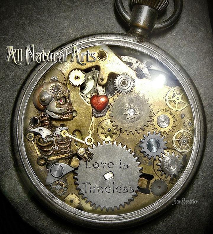 find bronze pocket watch