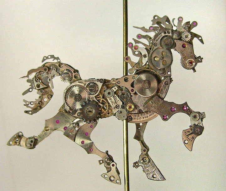 Ancient Watches Find A Second Life As Astonishing Mechanical Sculptures