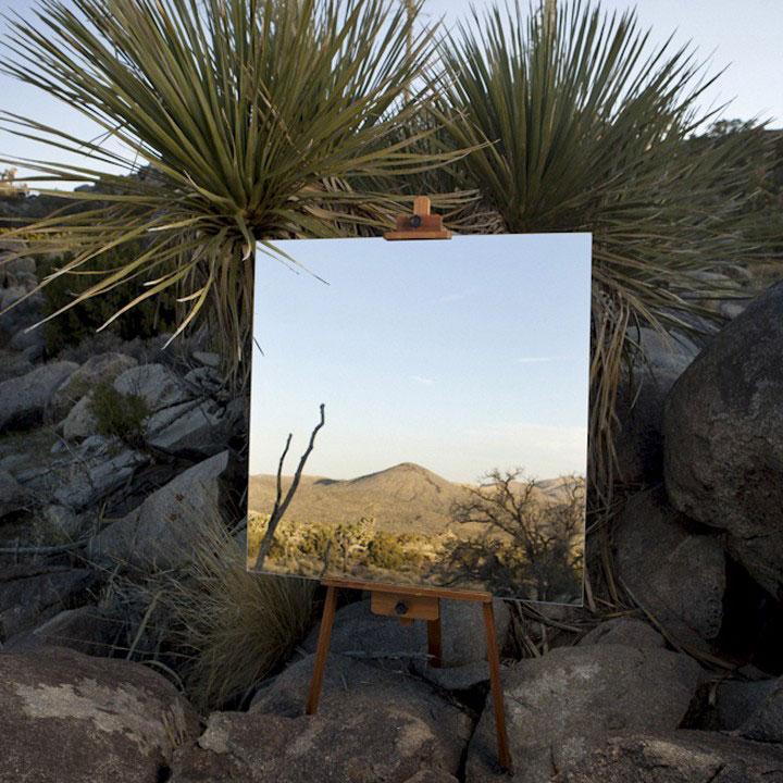 Elegant Photo Shot Taken In A Desert With The Help Of Mirror 10