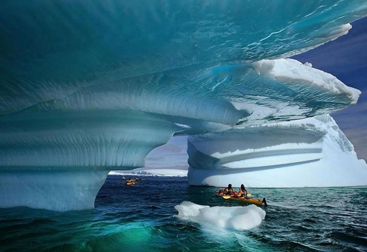 In this Kayaking Glacier Bay in the State of Alaska