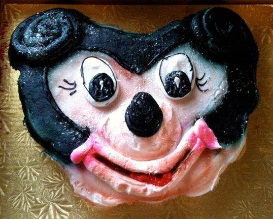 Micky mouse designed cake