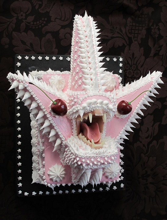 Monstrous star fish designed cake