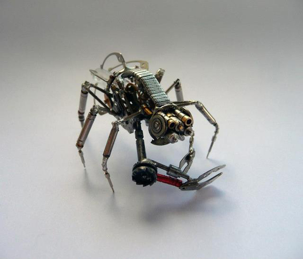 When Your Old Watches Become Mechanical Insects