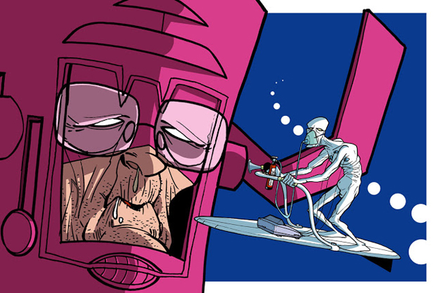 silversurfer-Donald-Soffritti-Super Heroes Looks In Their Old Age
