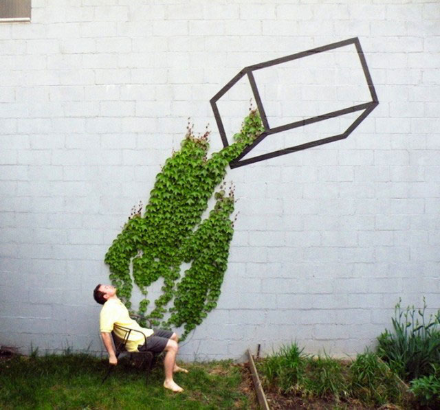 Street Artist Merge Nature With Their Works