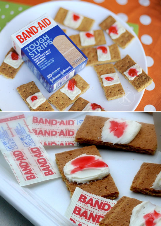 These used Band-aid as delicious appetizers