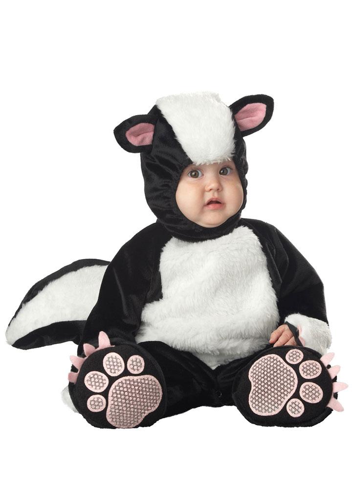 The skunk baby